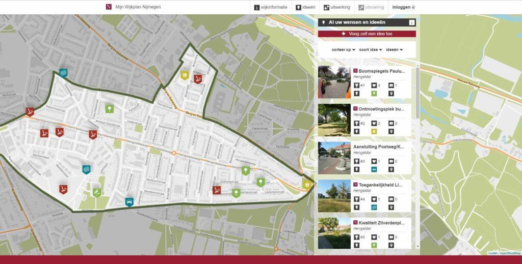 MijnWijplan Nijmegen